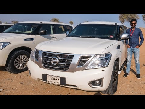 Nissan Patrol Review – Massive SUV With V8 Engine | Faisal Khan