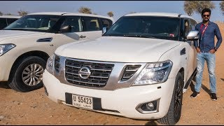 Nissan Patrol Review - Massive SUV With V8 Engine   Faisal Khan