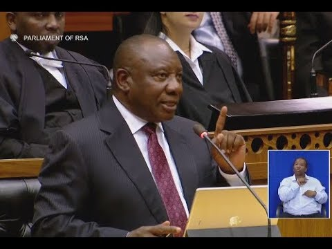 Taking land from indigenous people was the original sin - Ramaphosa