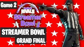 Fortnite Streamer Bowl Final Game 2 Highlights Fortnite Tournament 2020