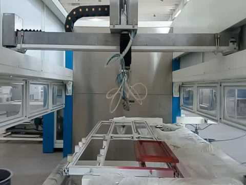 Wood Cabinet/Drawer Board Automatic Paint Spraying Machine — info@qdyich.com
