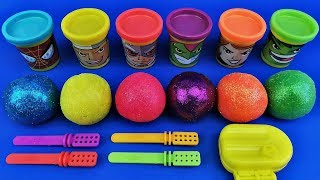 Learn Colors with Colors Balls out of Play Doh | Making Ice Cream| Learn numbers |Video for Children