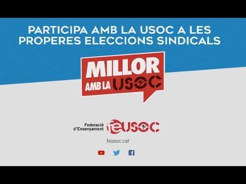 Participa amb la USOC a les eleccions sindicals