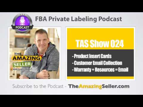 How I Plan To Collect Customer Email Addresses Using Insert Cards - TAS Show Ep. 24