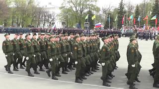 Парад Победы 9 мая 2017г. г.Ульяновск