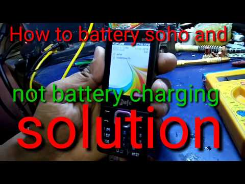 How to battery soho and not battery full solution