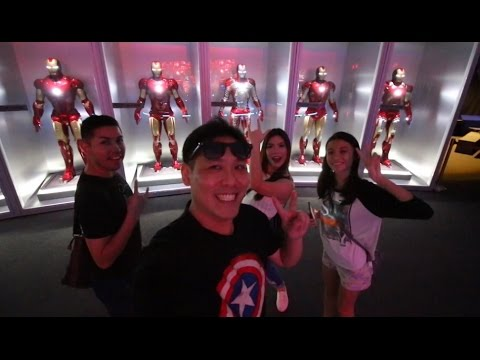 The Avengers Station @ The Singapore Science Centre - Full Review