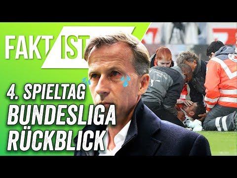 Fakt ist..! Bundesliga Rückblick - Jonker raus und Gentner ausgeknockt!  4. Spieltag 17/18