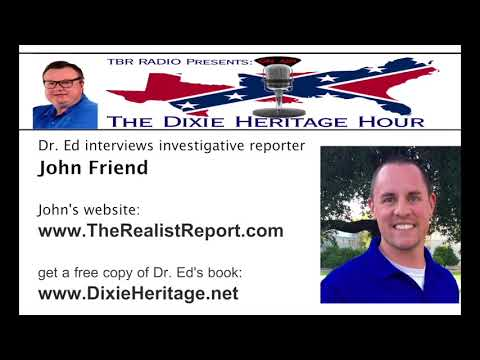 TBR Radio - The Dixie Heritage Hour 3/9/18 - interview w/Joh
