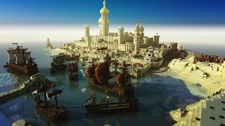 10 Most Mind Blowing Minecraft Builds