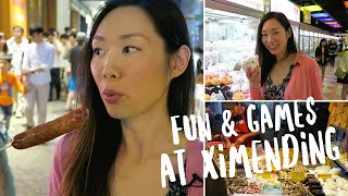 Cool Things To Do at Ximending (西門町) | Taipei, Taiwan Vlog