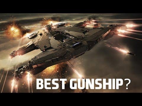 STAR CITIZEN || AEGIS HAMMERHEAD (TRUE AA GUNSHIP)