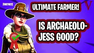archaeolo jess review best loadout new farmer fortnite - fortnite best outlander for farming 2019