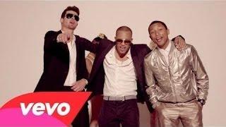 Robin Thicke - Blurred Lines ft. T.I. pharrell  (Studio Acapella)