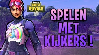 "Live Fortnite EN Be ""Live Fortnite with viewers! #Gezelligheid:) #Giveaway"