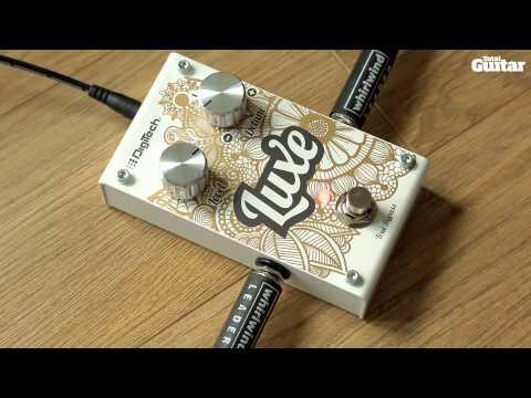 DigiTech Luxe anti-chorus guitar effects pedal demo