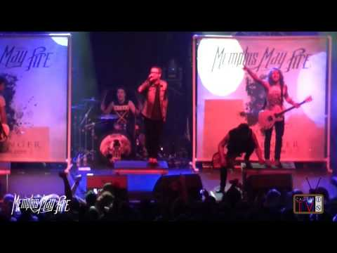 Memphis May Fire - FULL SET in HD! (Monster Energy Outbreak Tour 2012) San Francisco, CA