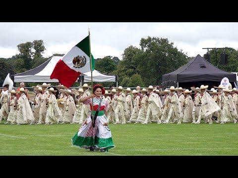 The sound of Mexico from Banda Monumental de México during the City of Perth Salute, Scotland 2018