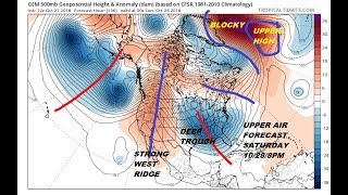 Odds Growing For Storm In the East Next Weekend, Quiet Chilly Week Ahead