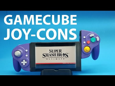 YouTuber turns the GameCube Switch Joy-Cons of our dreams into reality
