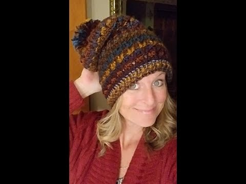 Stormy Waters Slouch Hat Pattern - YarnWars