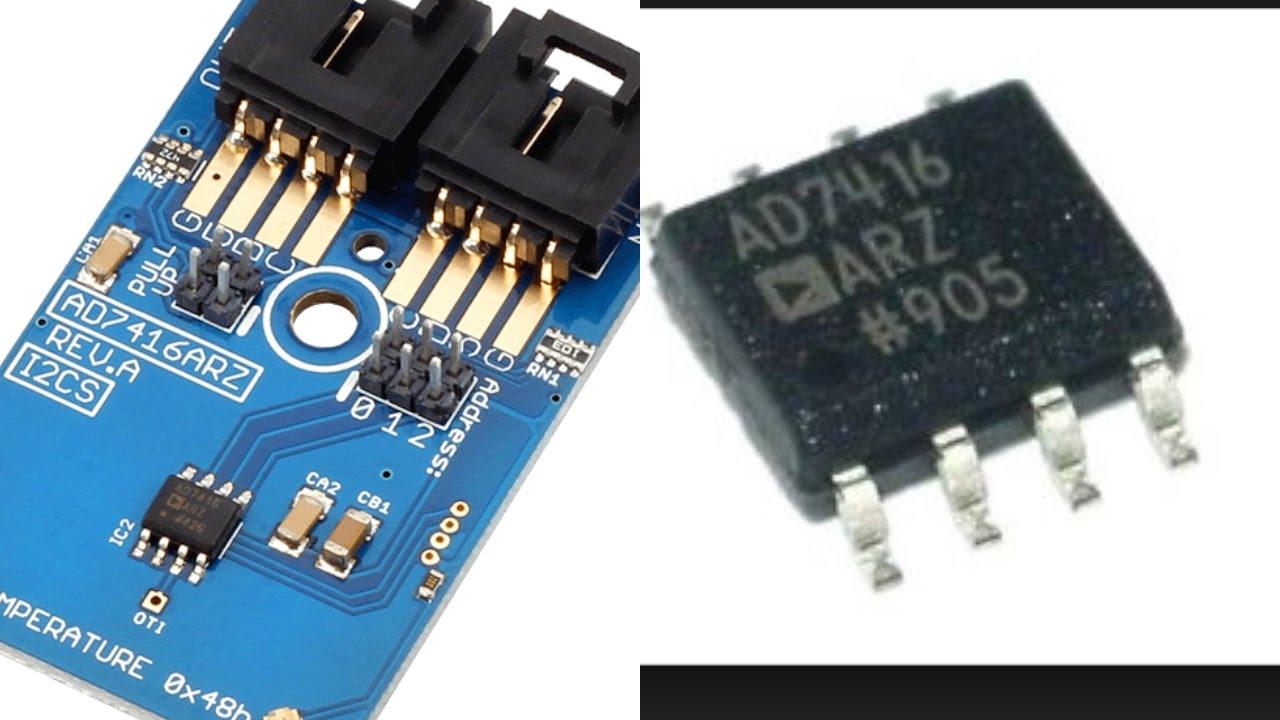 Beaglebone Black Ad7416arz Temperature Sensor C Code Tutorial Lm75 Schematic