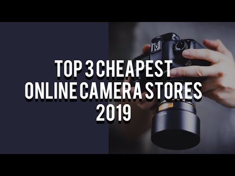 TOP 3 Cheapest Online Camera Stores