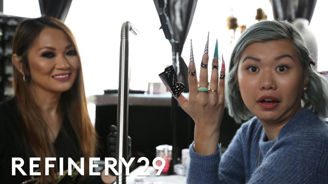 Cardi B Nail Artist Jenny Bui Gave Me Blinged Out Nails