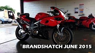 Brandshatch Suzuki TL1000S, June 2015