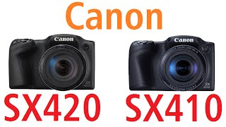 Canon PowerShot SX420 IS vs Canon PowerShot SX410 IS