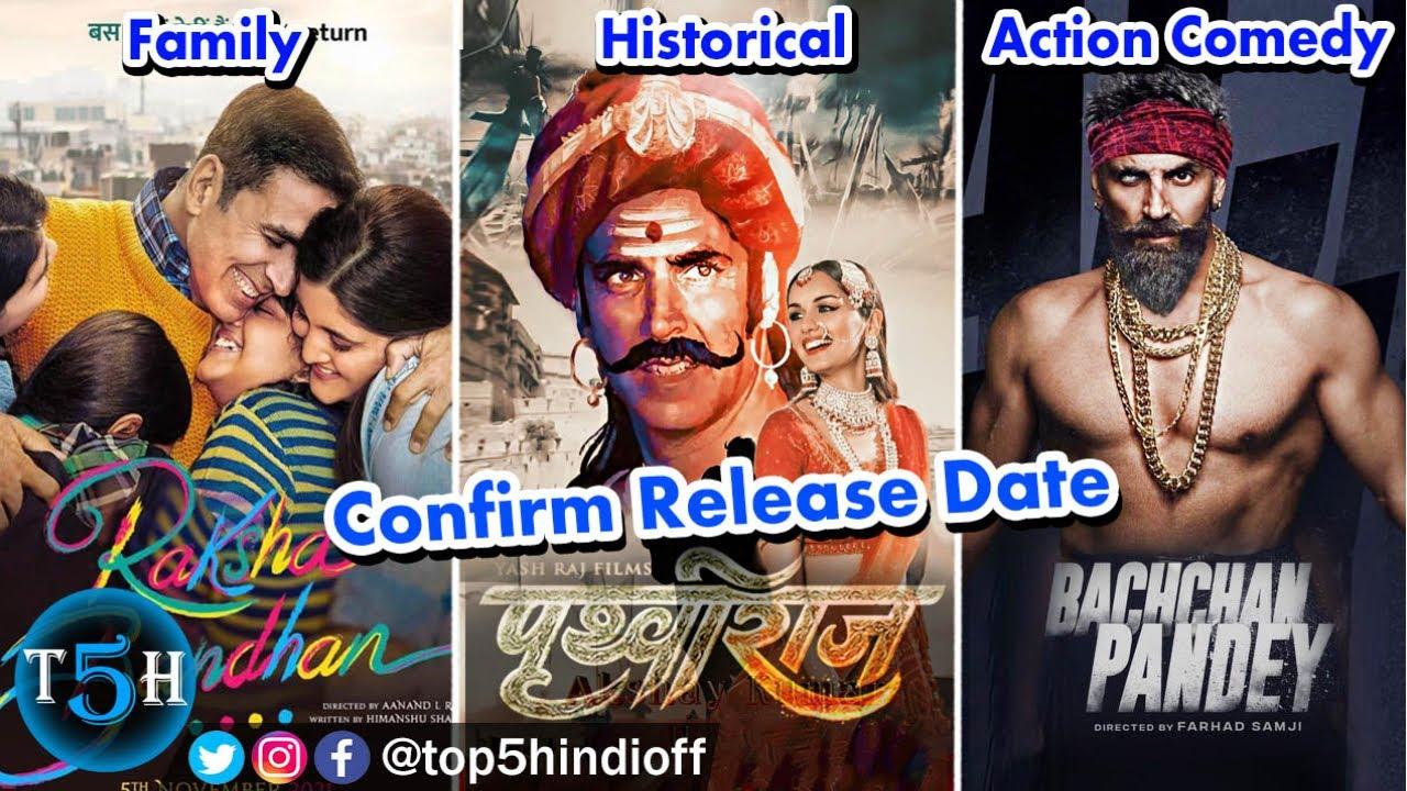 Download Top 5 Upcoming Akshay Kumar Movies | Confirm Release Date || Top 5 Hindi
