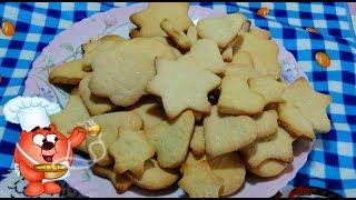 Рецепт  домашнего сахарного печенья - просто, быстро  и вкусно