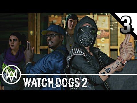 WATCH DOGS 2 Gameplay Walkthrough Part 3 · Operation: Cyber Driver Part 1 | PS4 Pro