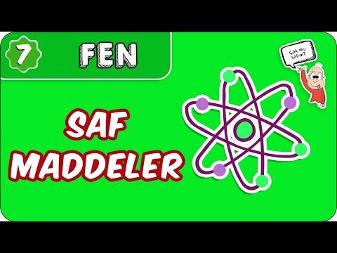 Saf Maddeler  | 7. Sınıf Fen #evokul Kampı