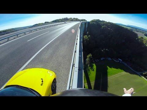 GoPro Awards: Sports Car Base Jump