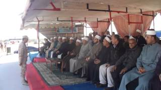 Imams and preachers lake delegation on a visit to the new Suez Canal
