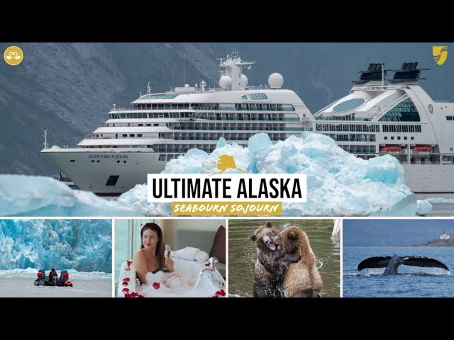 Seabourn Sojourn: Our ALASKA Luxury Cruise Highlights