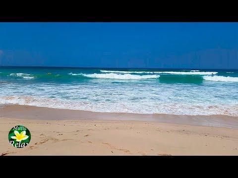 Beautiful Bali Beach and Relaxing Ocean Sounds for Deep Sleep 8 hours