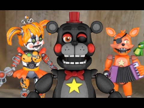 FNaF Pizzeria Sim Funko Action Figure Review