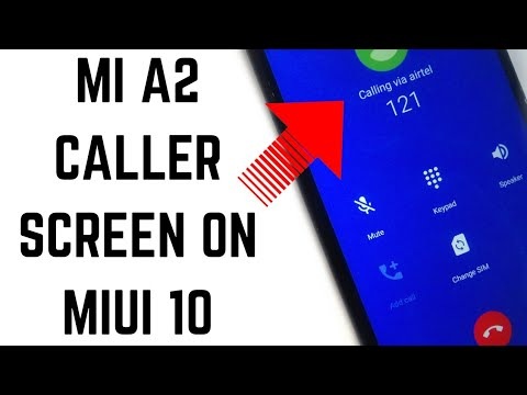 How To Get Mi A2 Caller Ui On Any Xiaomi Device!Change Miui 10 Caller Screen