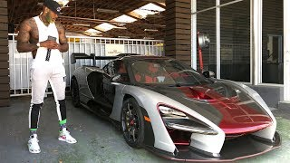 TAKING DELIVERY OF A BRAND NEW MCLAREN SENNA! *THIS THING IS INSANE!*