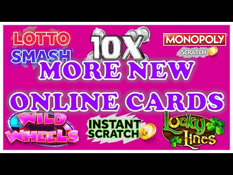 More New Online Scratchcards 🤑🤞
