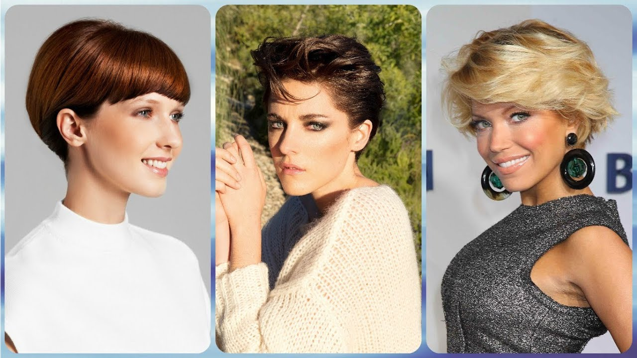 Top 20 Short Hairstyles For Over 40 Year Old Woman Autumn 2018