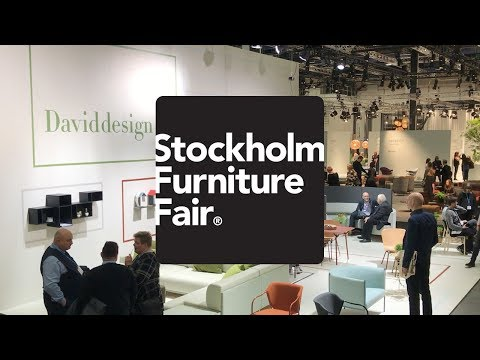 Stockholm Furniture Fair 2018