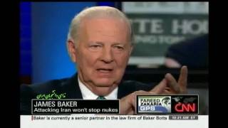 James Baker about US policy on Iran Feb 21 2010