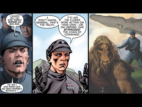How Non-Clone Republic Admirals and Officers Reacted to Order 66 [Legends]