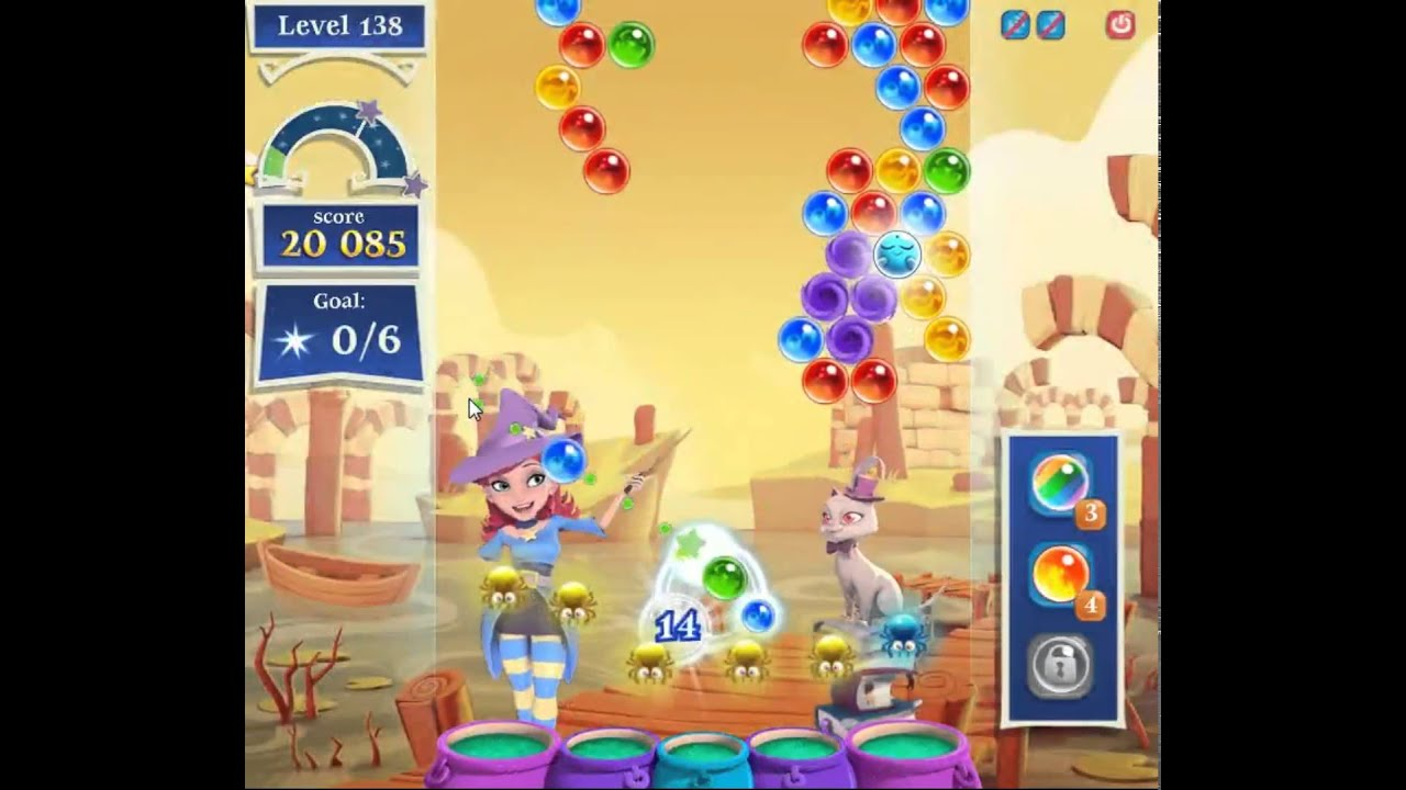 Bubble Witch 2 Saga Level 138 Help Solutions Updated Gogamerez