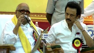 M. K. Stalin is ready to become the Leader of DMK -  Karunanidhi Declares in General Body Meeting