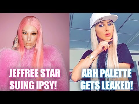 JEFFREE STAR SUING IPSY & ABH PALETTE GETS LEAKED