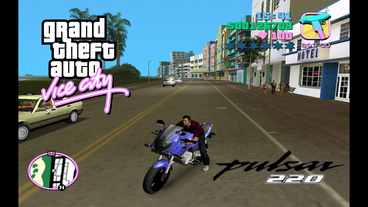 Gta Vice city Pulsar 220 with Super Power 30000 kg
